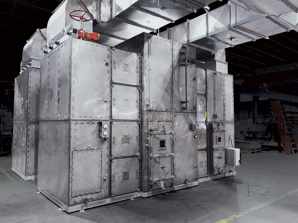 PMT Nuclear Air Filtration Unit