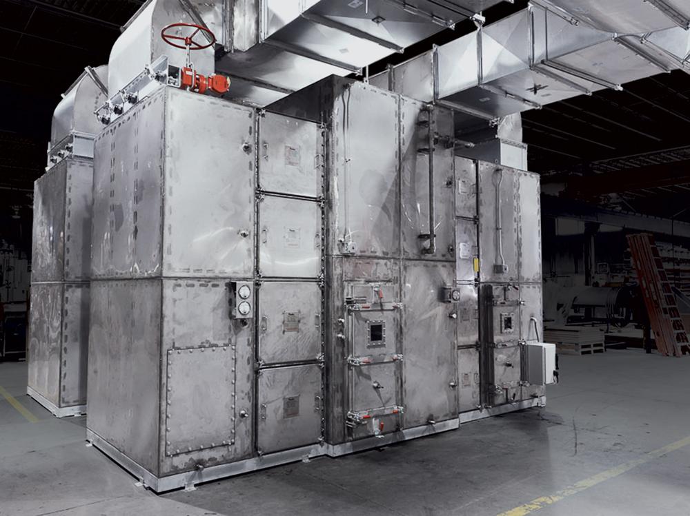 PMT Air Filtration Unit