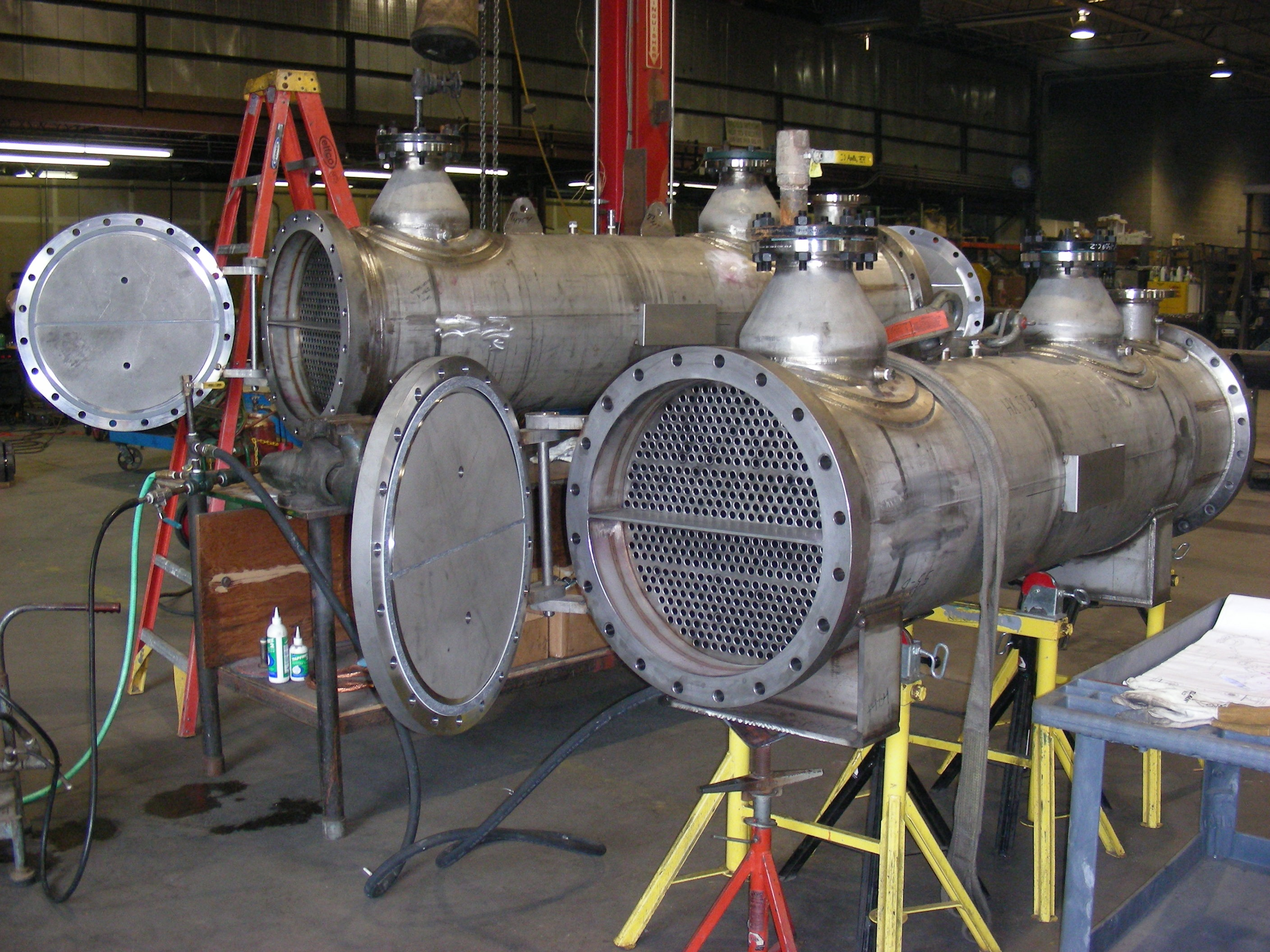 Nuclear HVAC Heat Exchanger Shell & Tube