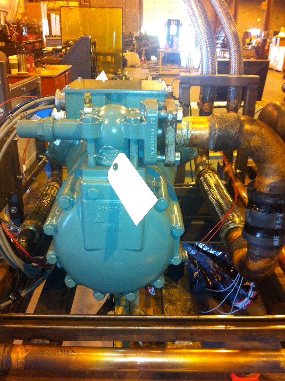 Nuclear Reciprocating Compressors