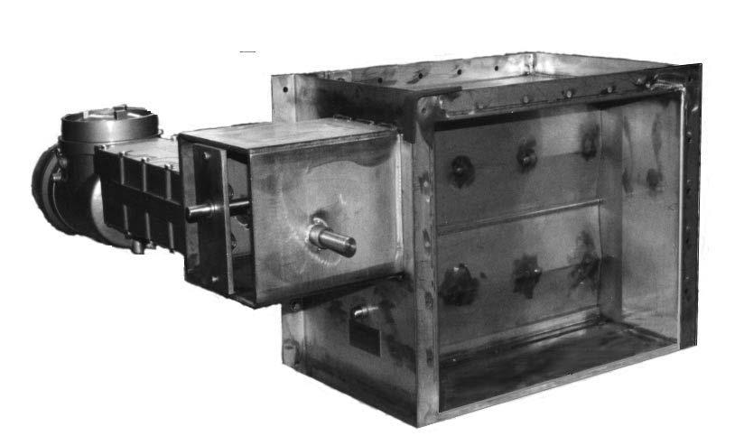 Nuclear HVAC Damper Control