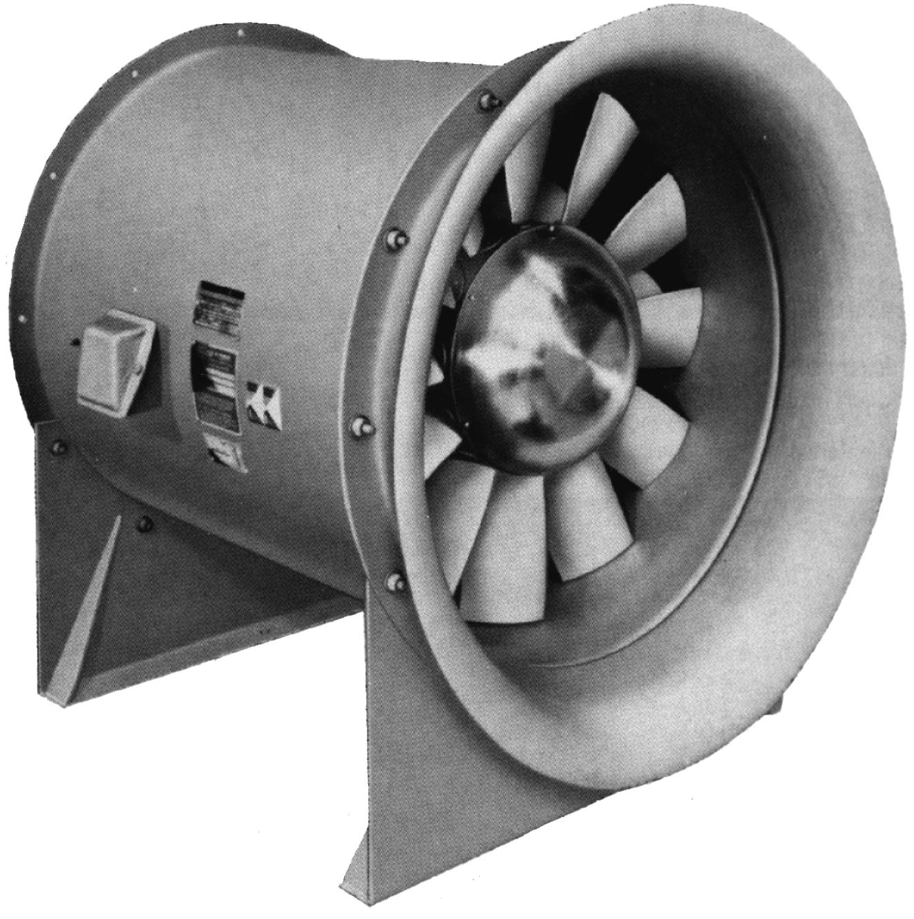 Nuclear HVAC Fans. Vane Axial Variable Air Volume Fan Features