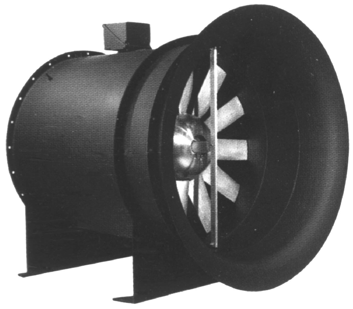 Controllable Pitch Vane Axial Fan Features